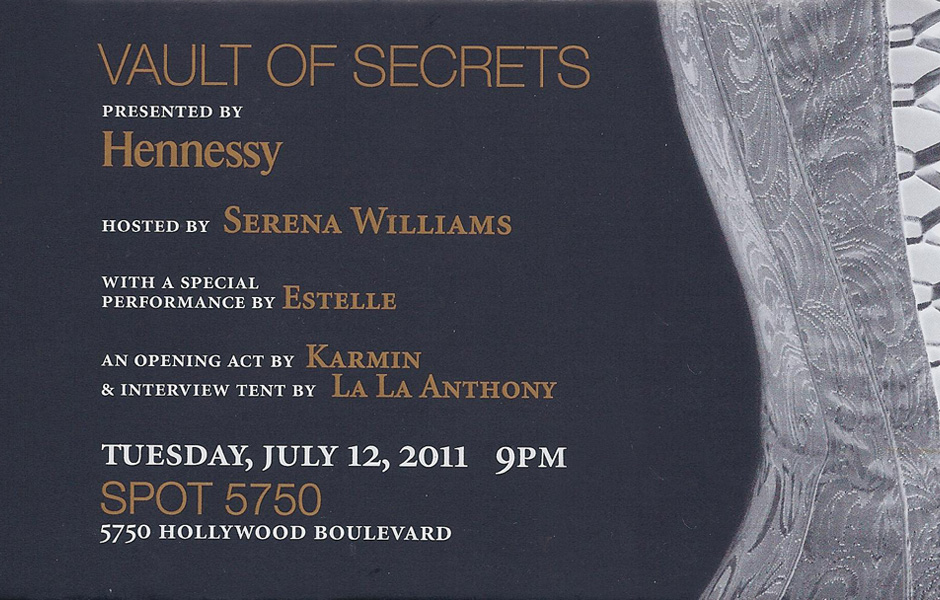 Cmpr events events for Vault of secrets